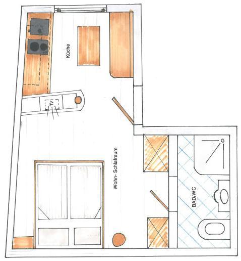 appartement zirbe